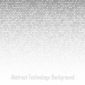 Abstract Light Gray Technology Background