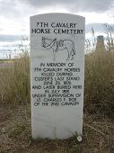 7th Cavalry Horse Cemetery Monument