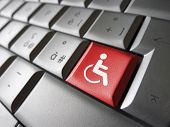 Web Accessibility Icon Symbol