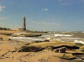 Jose Ignacio Lighthouse And The Beach