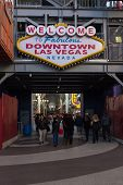 Welcome To Fabulous Downtown Las Vegas
