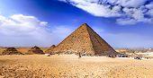 Great Pyramid Of Giza. Egypt