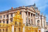 stock photo of versaille  - Versailles Castle - JPG