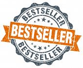 Bestseller Orange Vintage Seal Isolated On White