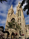 Front view Truro Cathedral
