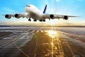 Passenger airplane.