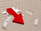 Parede do dólar