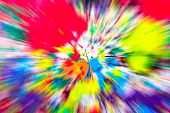 picture of starburst  - Abstract multicolored background - JPG