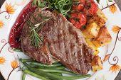 image of rib eye steak  - Beef rib - JPG
