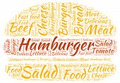 image of hamburger  - Hamburger theme  - JPG