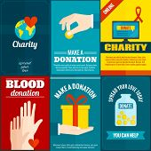 ������, ������: Charity posters set