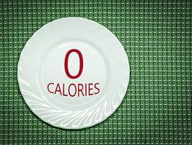 stock photo of zero  - Zero calories - JPG