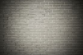 stock photo of arriere-plan  - Old brick wall background texture with gray bricks - JPG