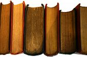 Antiquarian Books On End