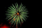 Abstract Fireworks