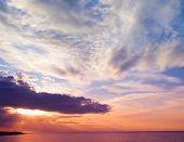 Twilight Sunset Background