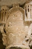 Noah'S Ark. Romanesque Capital