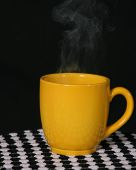 Yellow Steaming Cup