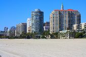 picture of long beach  - Downtown Long Beach - JPG