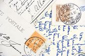 Vintage Hand-Written Post Cards