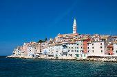 Ciudad de Rovinj en Croacia