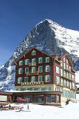 Hotel Bellevue Des Alpes And The Eiger Kleine Schneidegg Swiss Alps 1