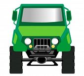 Big Jeep - Vector