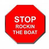 Stop Rocking Sign