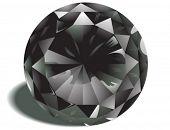 Diamond Birthstone - Vector