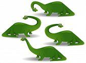 Brontosaurus  - Vector