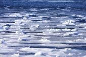 Frozen Ocean Background