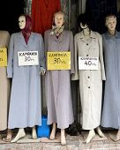 old mannequins at the souk - Istanbul