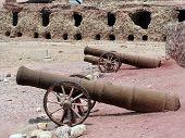 Iran, Hormuz island - Portuguese 500 years old fort's ruin