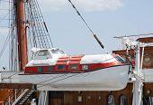 Passenger Ship Life Boat
