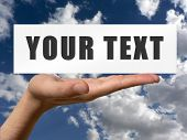 Hands With Your Text