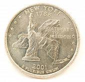 United States Quarter.