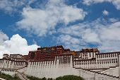 Potala Palace And Cloudscape