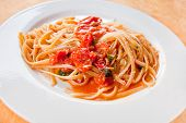 Spaghetti With Spicy Tomato Sauce poster