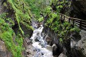 gorge Kitzlochklamm - National Park Hohe Tauern, Austria