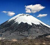 Vulcano Parinacota in National Park Lauca, Chile