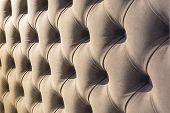 Chester Style Leather Background For Furniture Sofa Different Colors With Precious Jewelry Stones. E poster
