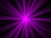 Abstract Purple Fractal Explosion