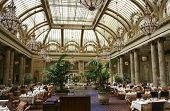 Garden Court At The Palace Hotel In San Francisco