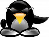Black Evil penguin.eps