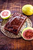 Guava, Sweet Typical Of Brazil Consumed Worldwide. Brazilian Dessert Made With Organic Fruits For Ex poster