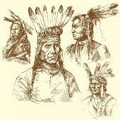wild west, apache portraits