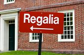 Regalia Sign At Harvard University Graduation