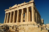 pic of parthenon  - The Parthenon a temple on the Athenian Acropolis Greece - JPG