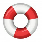 Illustration of a life saver