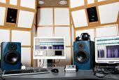 Estúdio de áudio